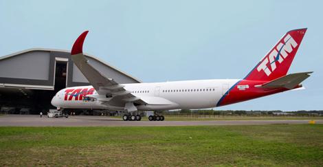 TAM A350 livery