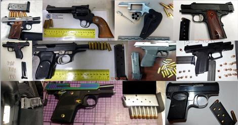 TSA concealed firearms image
