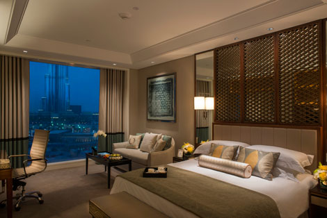 Taj Dubai bedroom