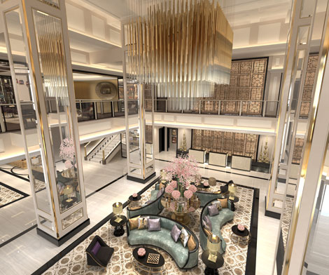 Taj Dubai lobby
