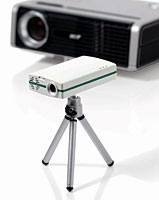 Firebrand portable projector