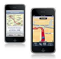 TomTom iPhone version 1.2