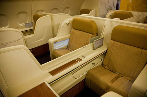 Thai Airways A380 first class