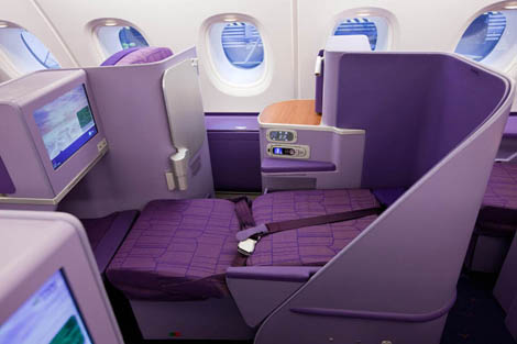 Thai Airways A380 business class