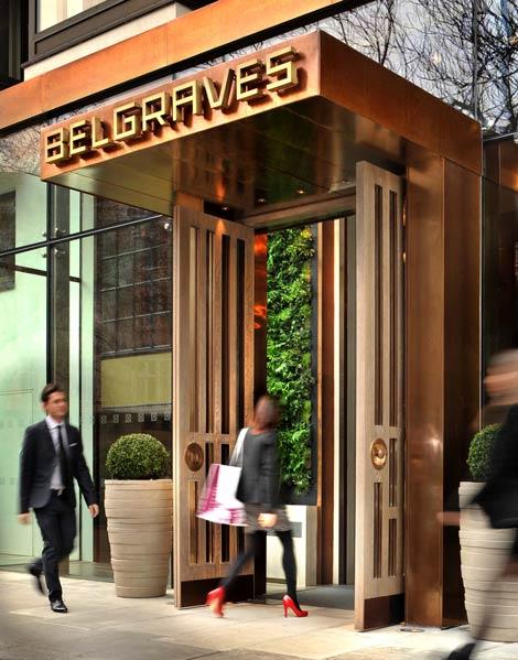 Belgraves entrance