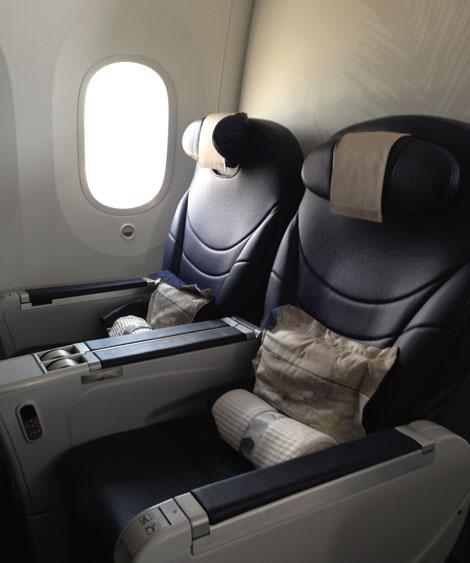 thomson b787 800 premium club business traveller