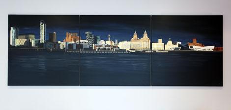 Travelodge Liverpool Exchange painting