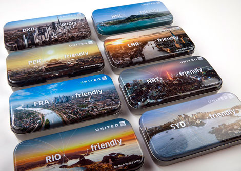 United amenity tins