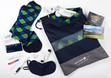United PGA amenity kit inside