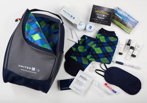 United PGA amenity kit