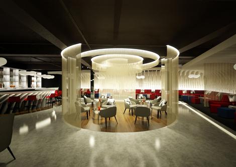 NY-LON Lounge entrance