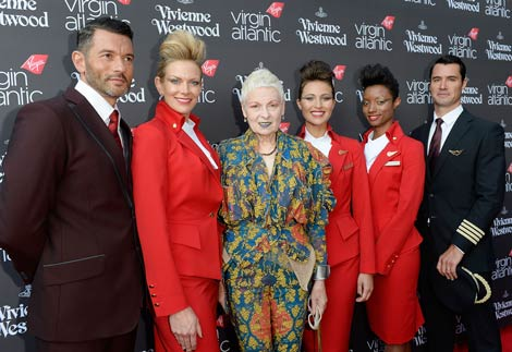 Virgin uniform launch