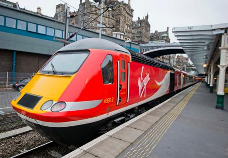 Virgin Trains East Coast new livery