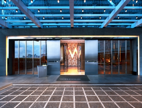 W Hotel Hong Kong Entrance