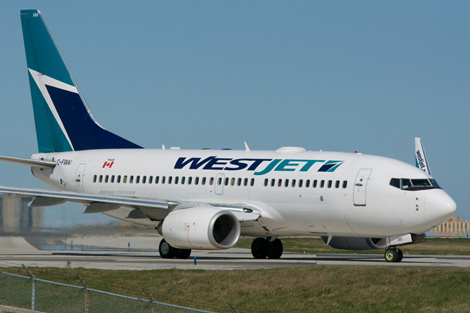 Westjet B737
