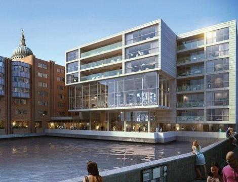 Westin London rendering