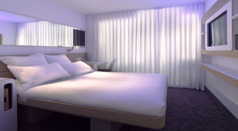Yotel New York room