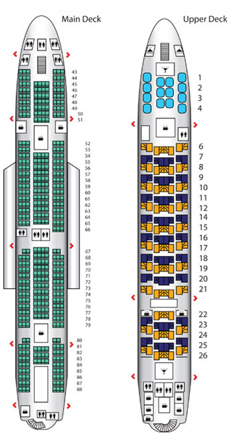 Emirates A380 configuration 1