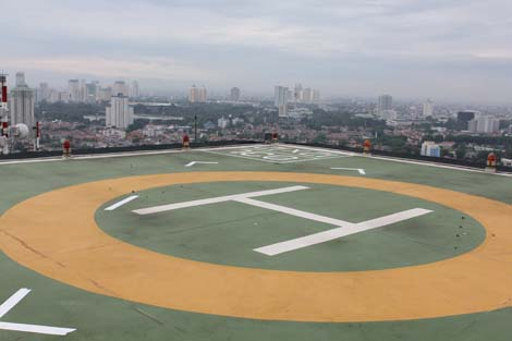 Five Hotels With Helipads
