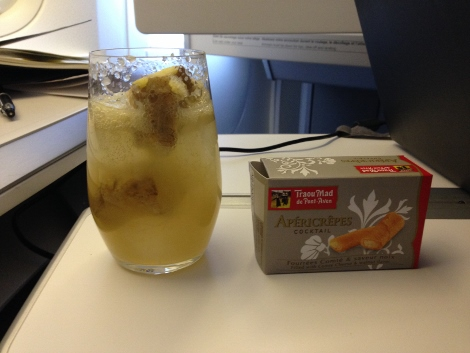 Air France business class drink