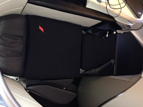 Air France new fully-flat business class seat