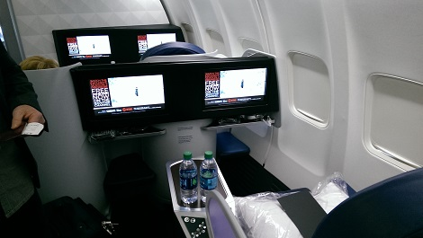 Delta One on B757