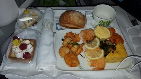 Finnair food