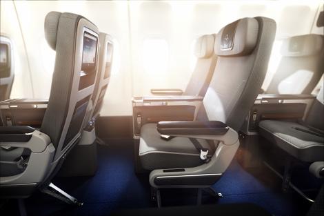 Lufthansa B747-8 premium economy