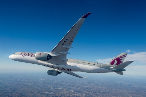 Qatar Airways A350XWB delivery