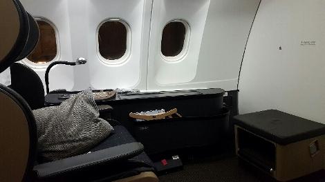 Swiss First A340-300 Seat 1A