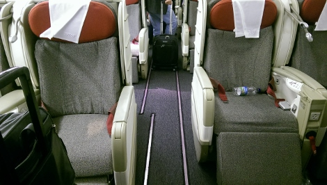 TAM B777-300ER Premium Business Row 1 Aisle