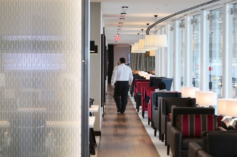 BA Galleries Lounge Washington Dulles