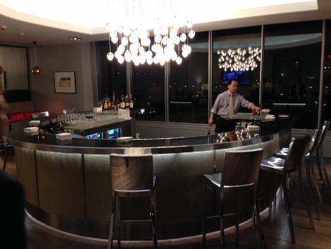 BA Galleries Lounge Washington Dulles bar