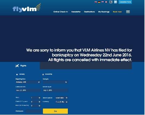 VLM Bankrupt