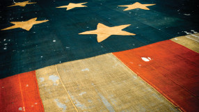 Star Spangled Banner at the Smithsonian Museum of American History, Washington DC