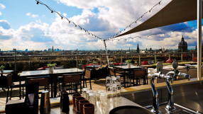 Terrace at the Doubletree by Hilton Amsterdam Centraal