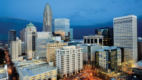 Skyline of Charlotte, North Carolina