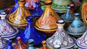 Moroccan tagine pots