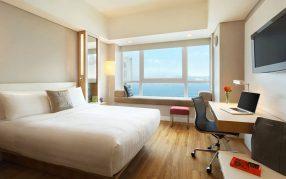 Hotel-Jen-room Hong Kong