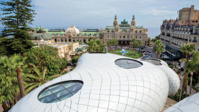 Pavilions at Monte Carlo in Monaco