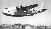 Air New Zealand forerunner TEAL's Short S30 Empire flying boat Aotearoa