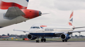 British Airways A320 aircraft