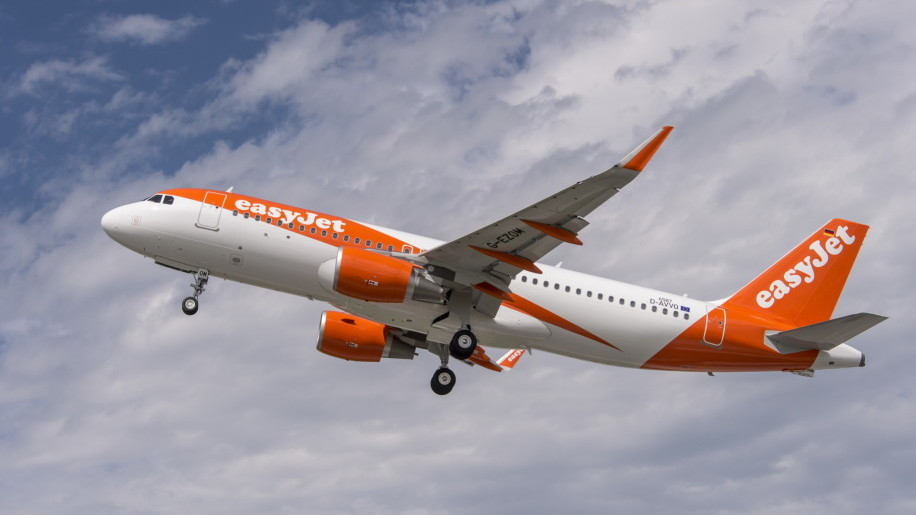 Easyjet A320 new livery 2015