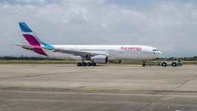 Eurowings A330-200 in Taipeh