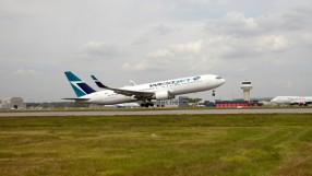 Westjet B767-300ER at Gatwick