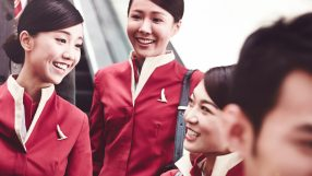 Cathay Pacific Cabin crew baggage