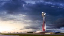 New Istanbul Airport control tower