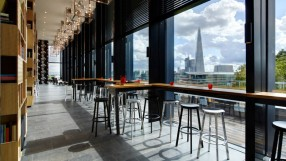 Citizen M Tower of London's seventh-floor bar and terrace