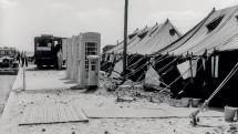 Tent 'terminals' at Heathrow, 1946