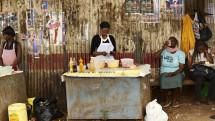 Nairobi street seller
